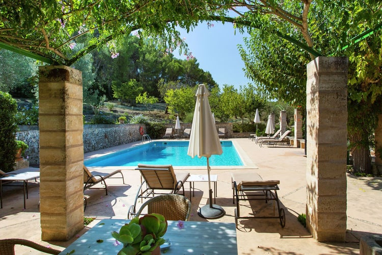 Vakantiehuizen Spanje | Mallorca | Vakantiehuis te huur in Lloret-de-Vistalegre met zwembad  met wifi 4 personen