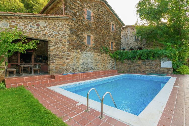 vakantiehuis Spanje, Costa de Barcelona, Montseny vakantiehuis ES-08469-02