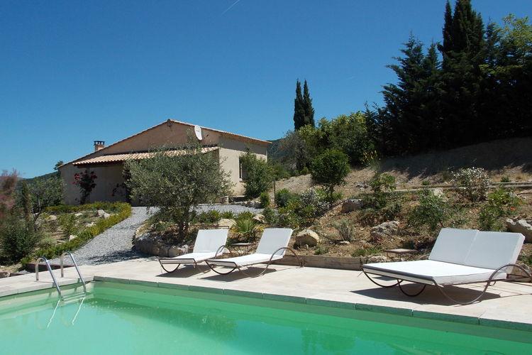 Vakantiewoning met zwembad   Montaulieu  Prachtig en rustig gelegen vakantiehuis met privézwembad, 14 km van Nyons