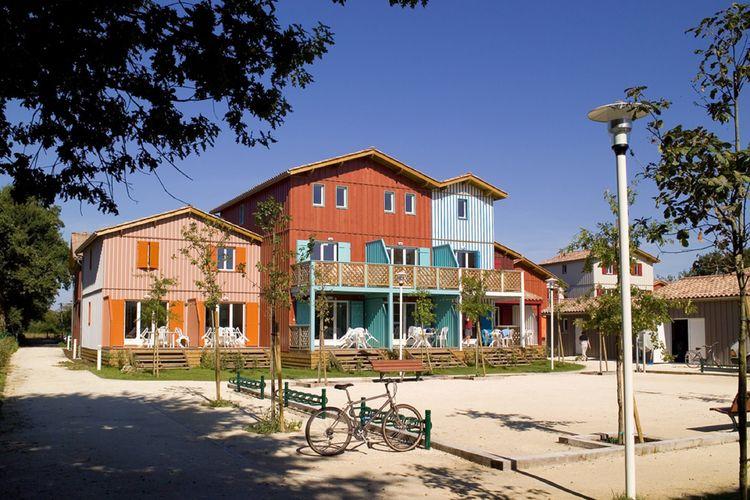 Appartementen Frankrijk | Cote-Atlantique | Appartement te huur in Le-Teich met zwembad   5 personen