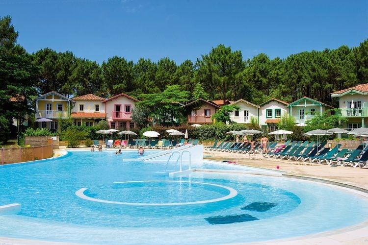 Vakantiehuizen Frankrijk | Cote-Atlantique | Appartement te huur in Lacanau-Ocean met zwembad  met wifi 5 personen