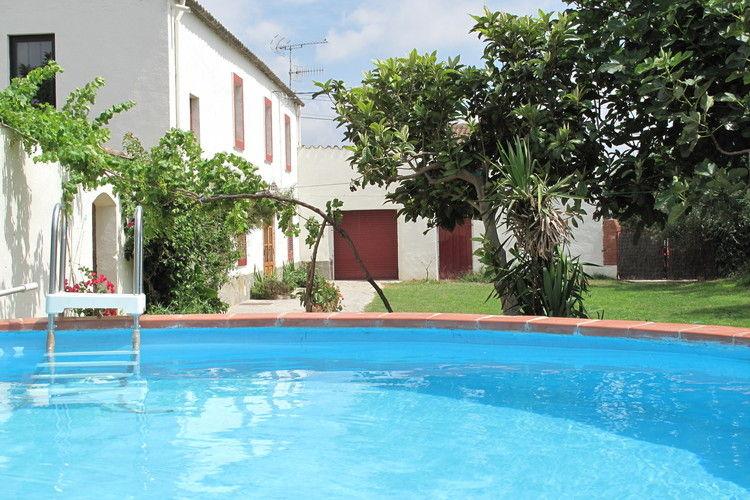 Spanje | Costa-de-Barcelona | Vakantiehuis te huur in Sant-Marti-Sarroca   met wifi 10 personen