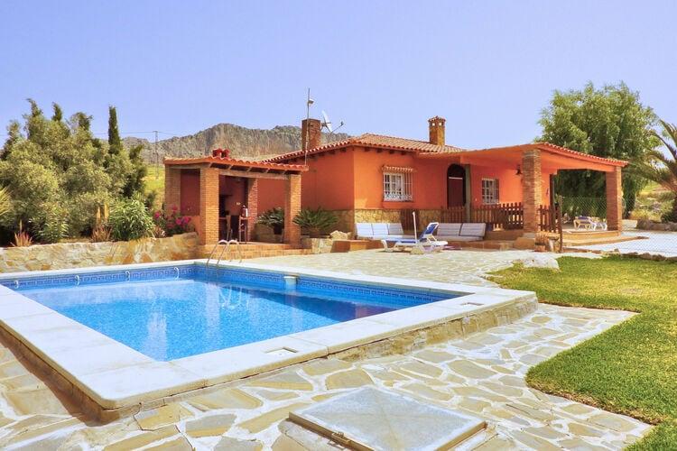 Vakantiehuizen Spanje | Andalucia | Vakantiehuis te huur in Villanueva-de-la-Concepcion met zwembad  met wifi 6 personen