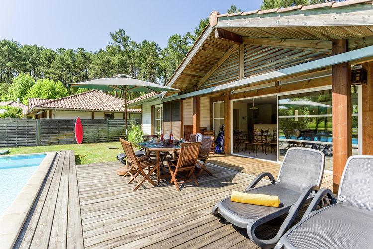 Holiday house Villas Clairière aux Chevreuils (236280), Moliets et Maa, Atlantic coast Landes, Aquitania, France, picture 22