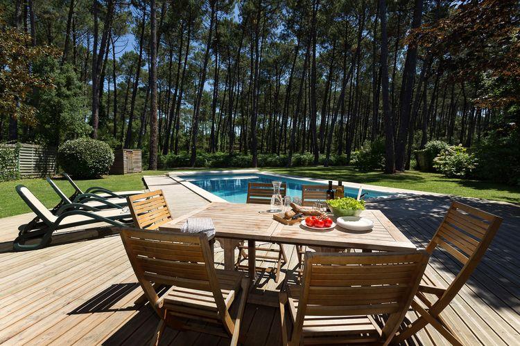 Vakantiehuizen Frankrijk | Cote-Atlantique | Villa te huur in Moliets met zwembad  met wifi 12 personen