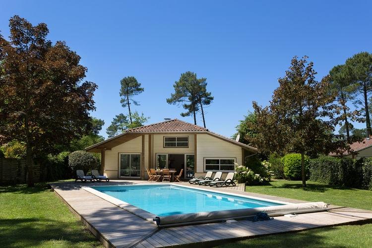 Frankrijk | Cote-Atlantique | Villa te huur in Moliets met zwembad  met wifi 12 personen