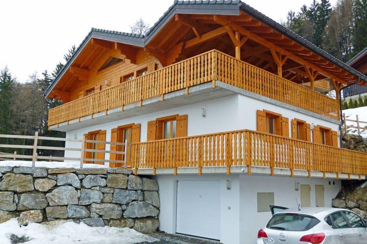 Vakantiehuizen Zwitserland | Jura | Chalet te huur in La-Tzoumaz   met wifi 12 personen