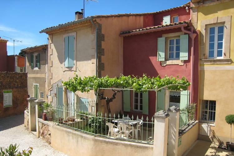 Vakantiehuizen Frankrijk | Provence-alpes-cote-d-azur | Vakantiehuis te huur in Roussillon   met wifi 4 personen