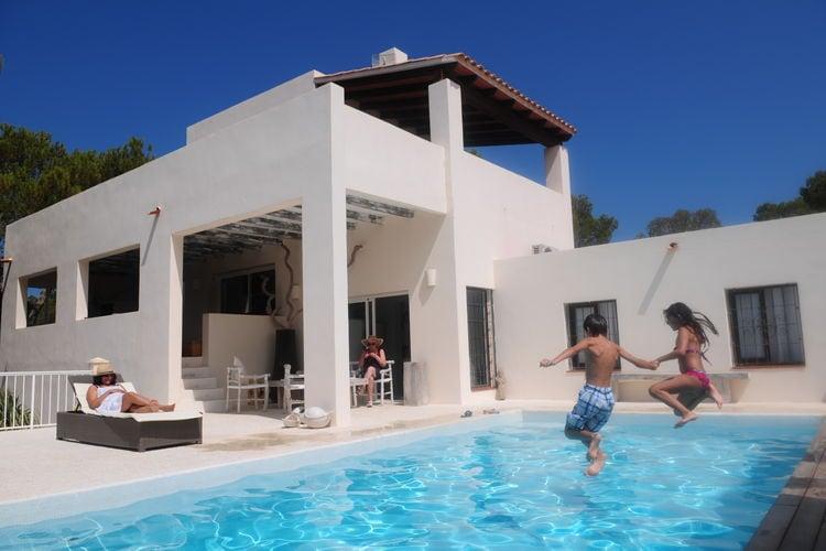 Vakantiehuizen San-Jose-Cala-Tarida te huur San-José-/-Cala-Tarida- ES-07829-06 met zwembad  met wifi te huur