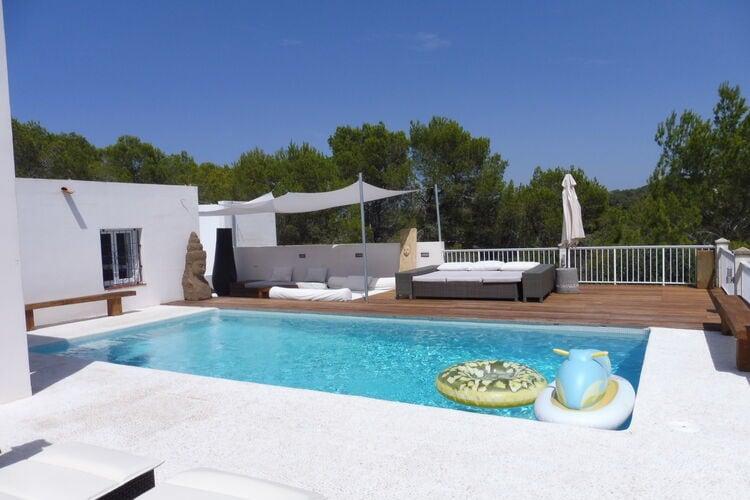 Vakantiehuizen Ibiza te huur San-José-/-Cala-Tarida- ES-07829-06 met zwembad  met wifi te huur