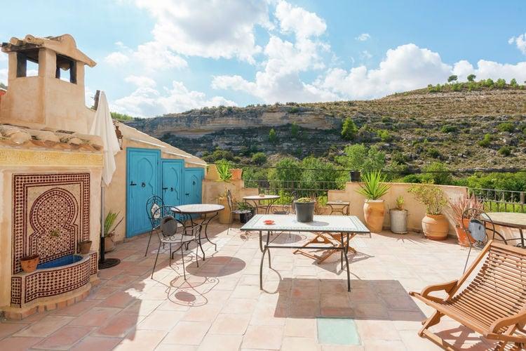 Vakantiehuis met zwembad met wifi  Castilla las manchaEl Hamman
