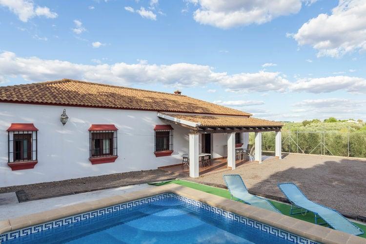 Posadas Vakantiewoningen te huur Casa rural met privézwembad en eigen tennisbaan op 30 km van de stad Cordoba