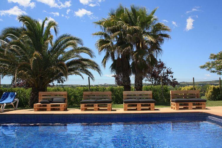vakantiehuis Spanje, Costa de Barcelona, Subirats vakantiehuis ES-08739-04