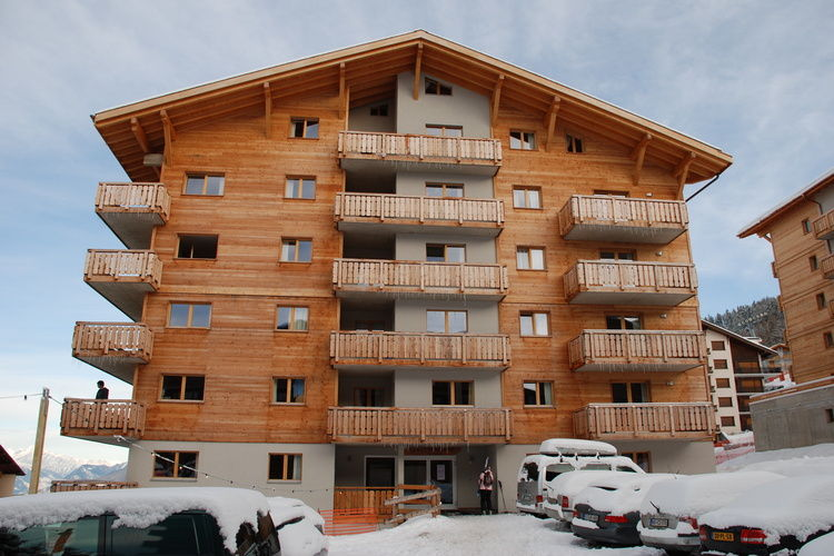 Le Pracondu 6P12 - Apartment - Nendaz - Exterior - Winter