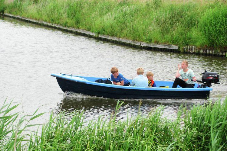 Boerderij Nederland, Friesland, St. Annaparochie Boerderij NL-9076-01