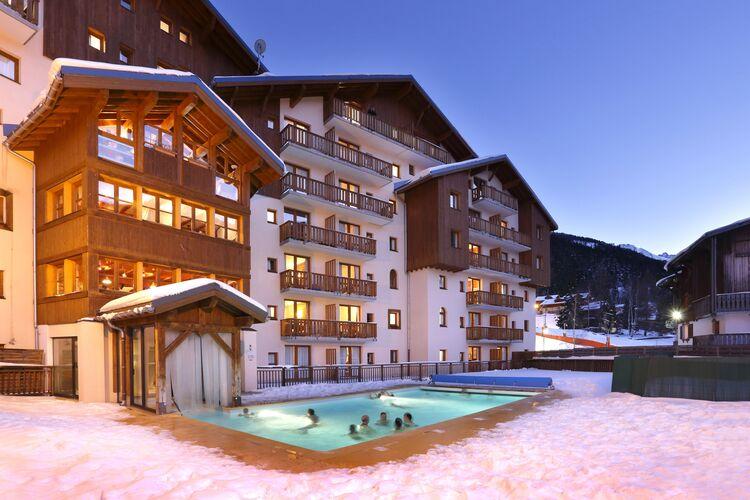 Vakantiehuizen Frankrijk | Rhone-alpes | Appartement te huur in Valfrejus met zwembad   6 personen