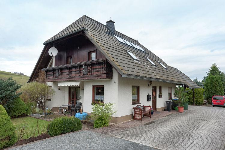 Vakantiewoning Duitsland, Saksen, Schwarzenberg OT Pöhla Appartement DE-08340-03