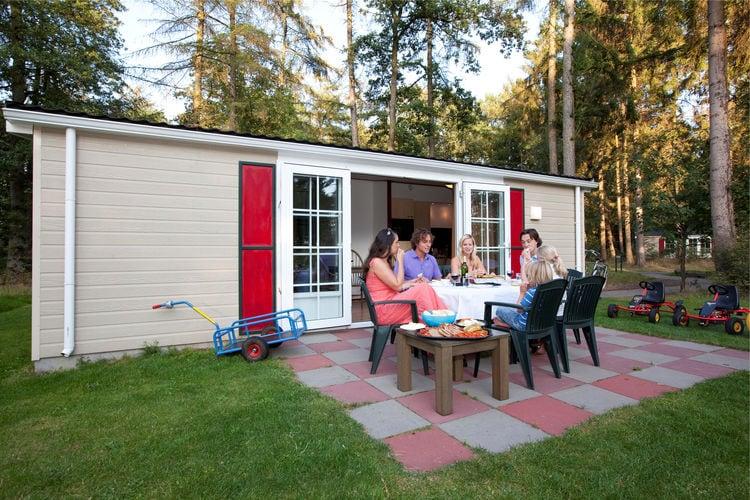 Vakantiehuizen Nederland | Drenthe | Chalet te huur in Borger met zwembad  met wifi 6 personen