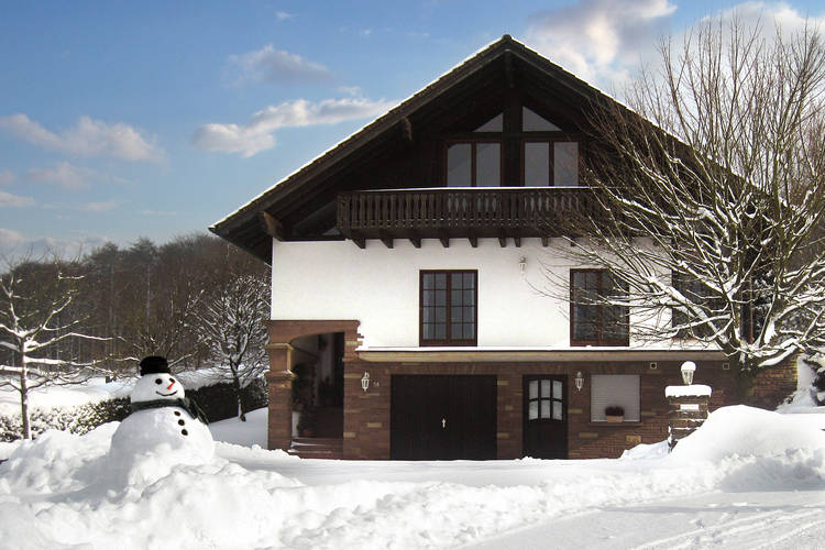 Holiday Home Exterior (winter)