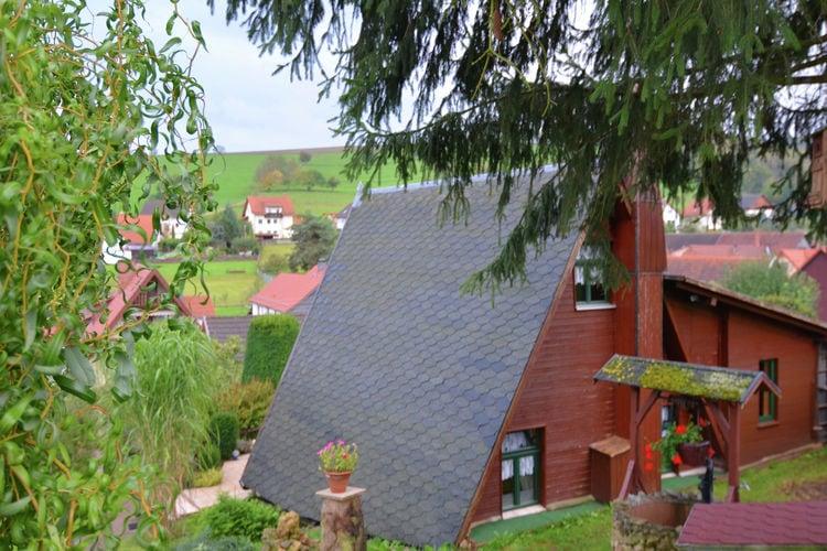 Ferienhaus Finnhütte Bergblick (270037), Wutha-Farnroda, Thüringer Kernland, Thüringen, Deutschland, Bild 4