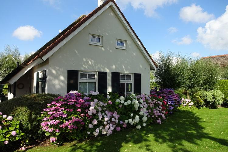 Vakantiewoning  met wifi  Steendam  Sfeervolle rietgekapte woning met sauna, tuin, aanlegsteiger aan Schildermeer
