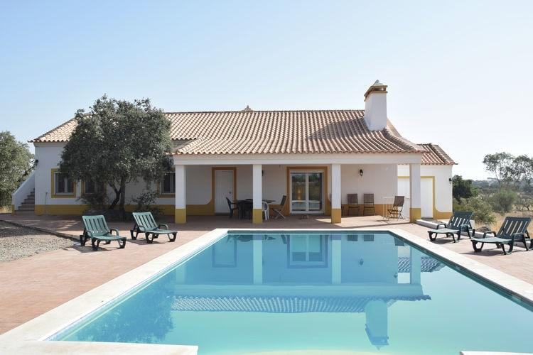 Vakantiehuizen Portugal | Alentejo | Villa te huur in Vimiero met zwembad  met wifi 6 personen