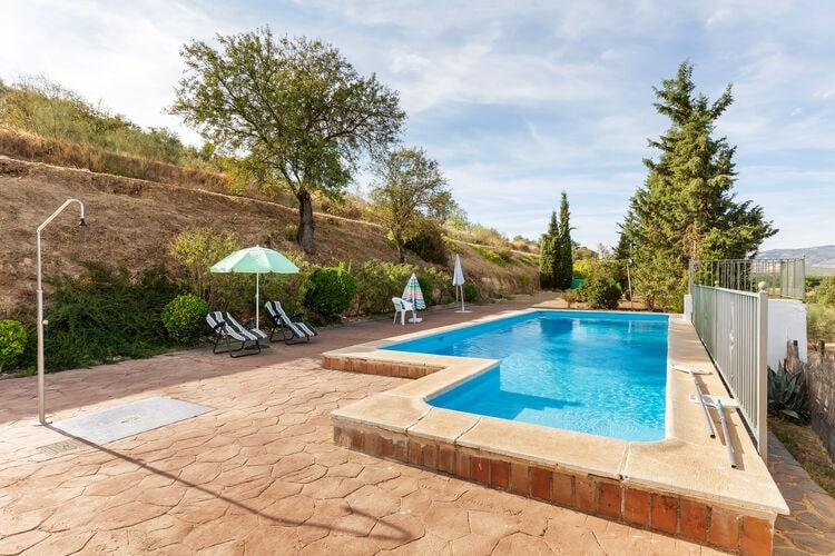 Vakantiehuizen Spanje | Andalucia | Vakantiehuis te huur in Huetor-Tajar met zwembad  met wifi 12 personen