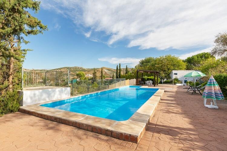 Vakantiehuizen Spanje | Andalucia | Vakantiehuis te huur in Huetor-Tajar met zwembad  met wifi 8 personen