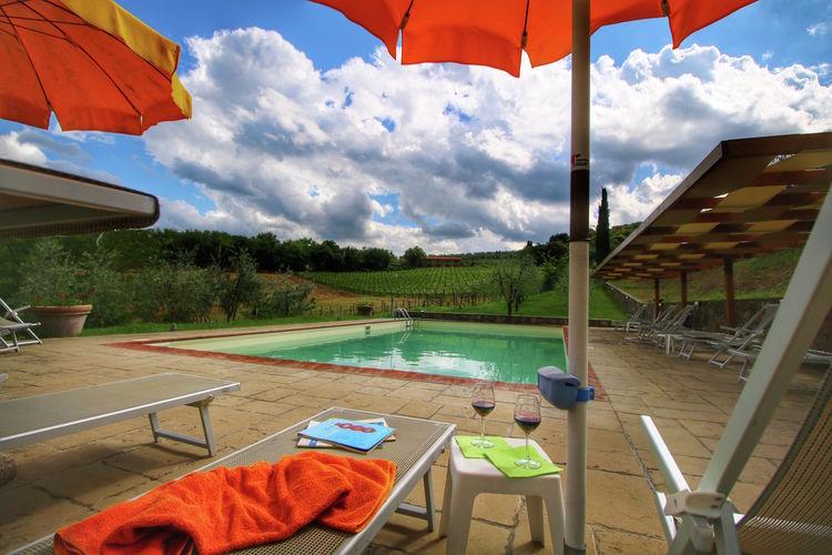 Boerderij Italië, Toscana, Bucine Boerderij IT-52021-18
