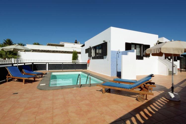lnzt Vakantiewoningen te huur Luxe villa met privé-zwembad in het zuiden van Lanzarote