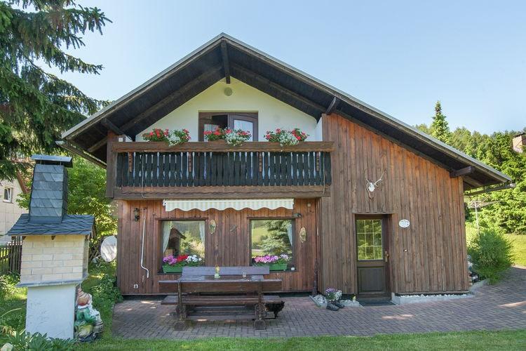 vakantiehuis Duitsland, Thuringen, Piesau vakantiehuis DE-98739-01