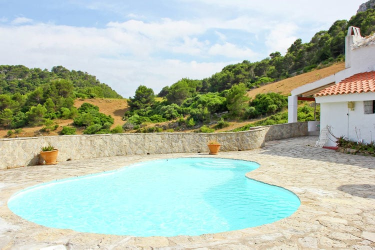 vakantiehuis Spanje, men, Es Mercadal vakantiehuis ES-07740-02