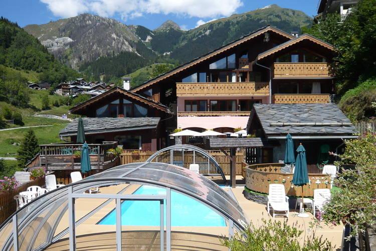 Appartement met zwembad met wifi  Champagny-en-VanoiseResidence les Edelweiss 8