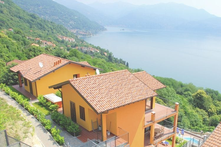 Vakantiehuizen Italie | Italiaanse-Meren | Appartement te huur in Barbe-Oggebbio met zwembad   4 personen