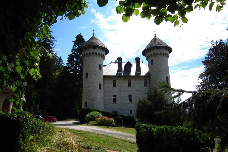 Kasteel Frankrijk, Rhone-alpes, Serrieres en Chautagne Kasteel FR-73310-07