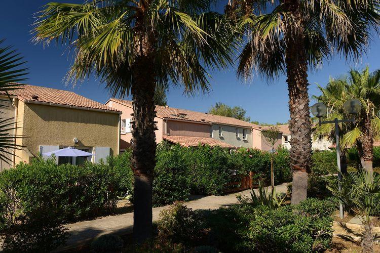 Vendres-Plage Vakantiewoningen te huur 6 persoons Maisonnette 600 m. van het strand