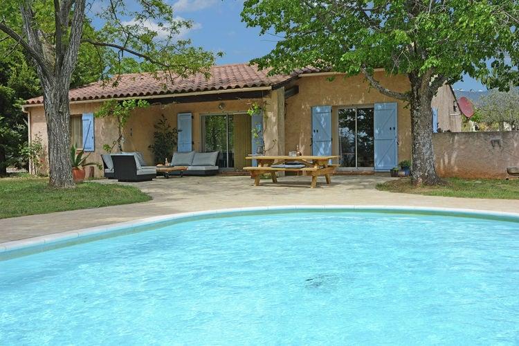 Vakantiehuizen Frankrijk | Provence-alpes-cote-d-azur | Villa te huur in Aups met zwembad  met wifi 6 personen