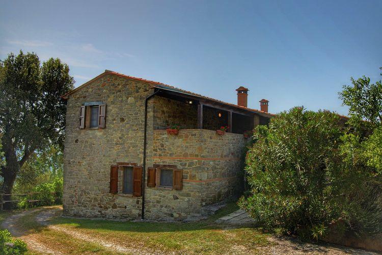 Paciano Boerderijen te huur Agritoerisme met zwembad op de grens van Umbrië en Toscane