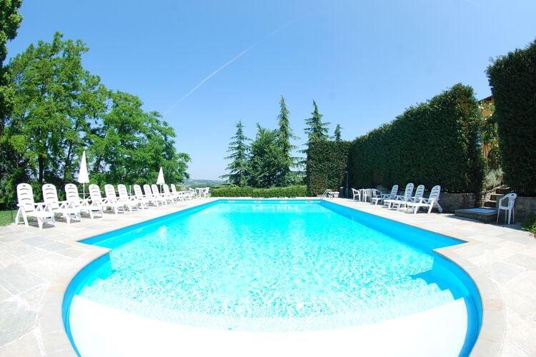 Vakantiehuizen Italie | Piemonte | Vakantiehuis te huur in Nizza-Monferrato met zwembad  met wifi 4 personen