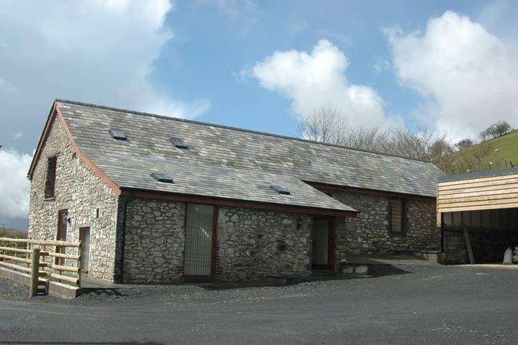 Groot-brittannie Boerderijen te huur Omgebouwde en gemoderniseerde boerenschuur in de Cambrian Mountains