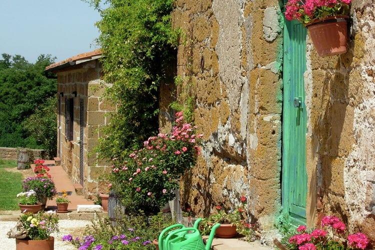 Boerderij Italië, Toscana, Sorano Boerderij IT-58010-06