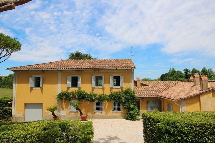 Villas Italie | Lazio | Villa te huur in Manziana met zwembad  met wifi 8 personen