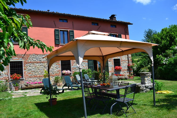 Vakantiehuizen Italie | Toscana | Vakantiehuis te huur in Castiglione-di-Garfagnana   met wifi 8 personen