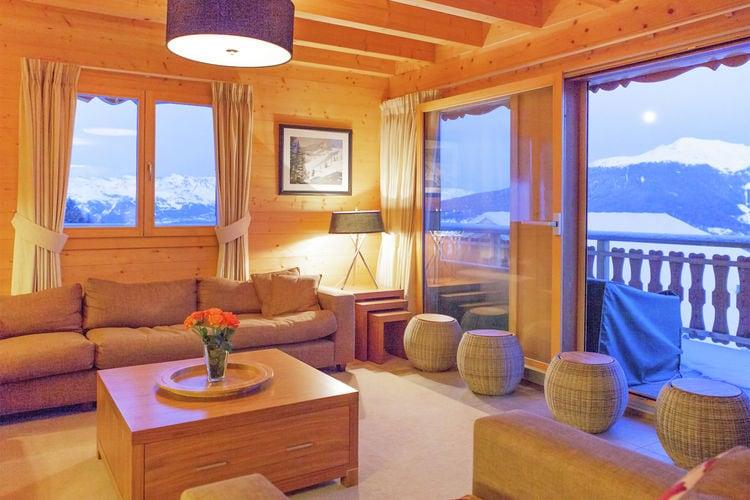 Vakantiewoning Zwitserland, Jura, Les Collons Chalet CH-1988-01
