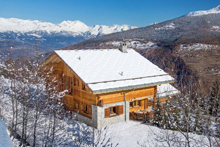 Chalet Zwitserland, Jura, Les Collons Chalet CH-1988-01