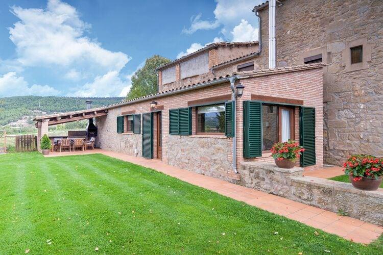 Vakantiehuizen Spanje | Catalunia | Vakantiehuis te huur in Lladurs met zwembad  met wifi 7 personen
