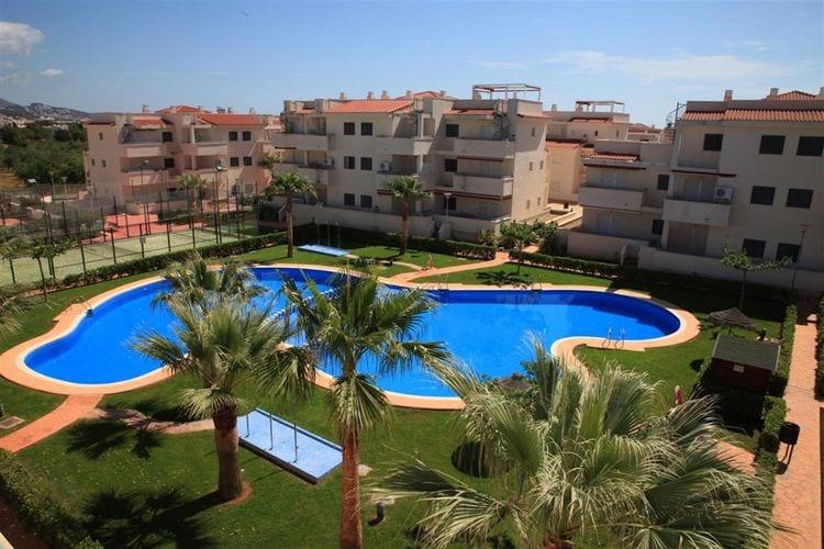 Costa del Azahar Vakantiewoningen te huur Appartementen gelegen op ca. 600 m. van het zandstrand