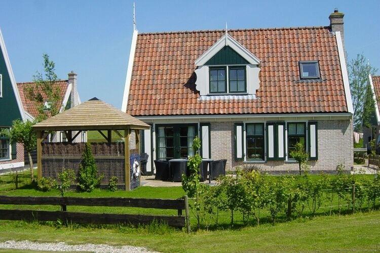 Vakantiehuizen Nederland | Noord-Holland | Villa te huur in Hippolytushoef   met wifi 6 personen