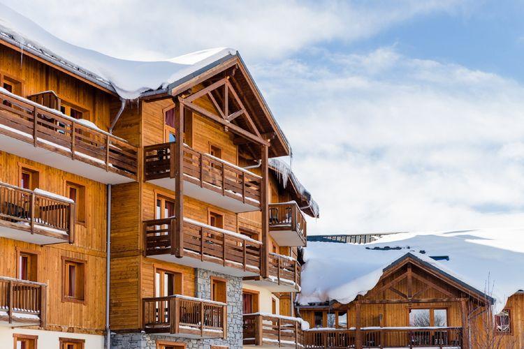 La-Toussuire Vakantiewoningen te huur Nieuw appartement in gezellige residence met zwembad in La Toussuire