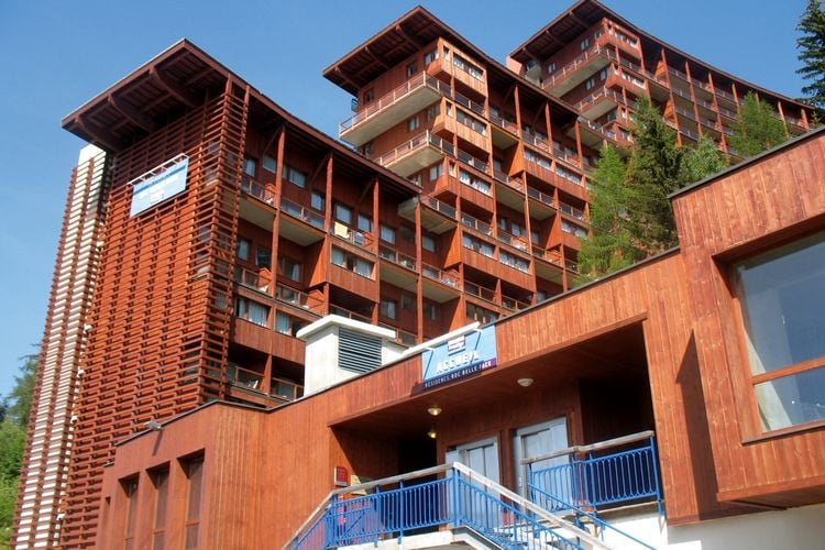 Appartement met zwembad met wifi  Arc-1600Residence Le Roc Belle Face 4